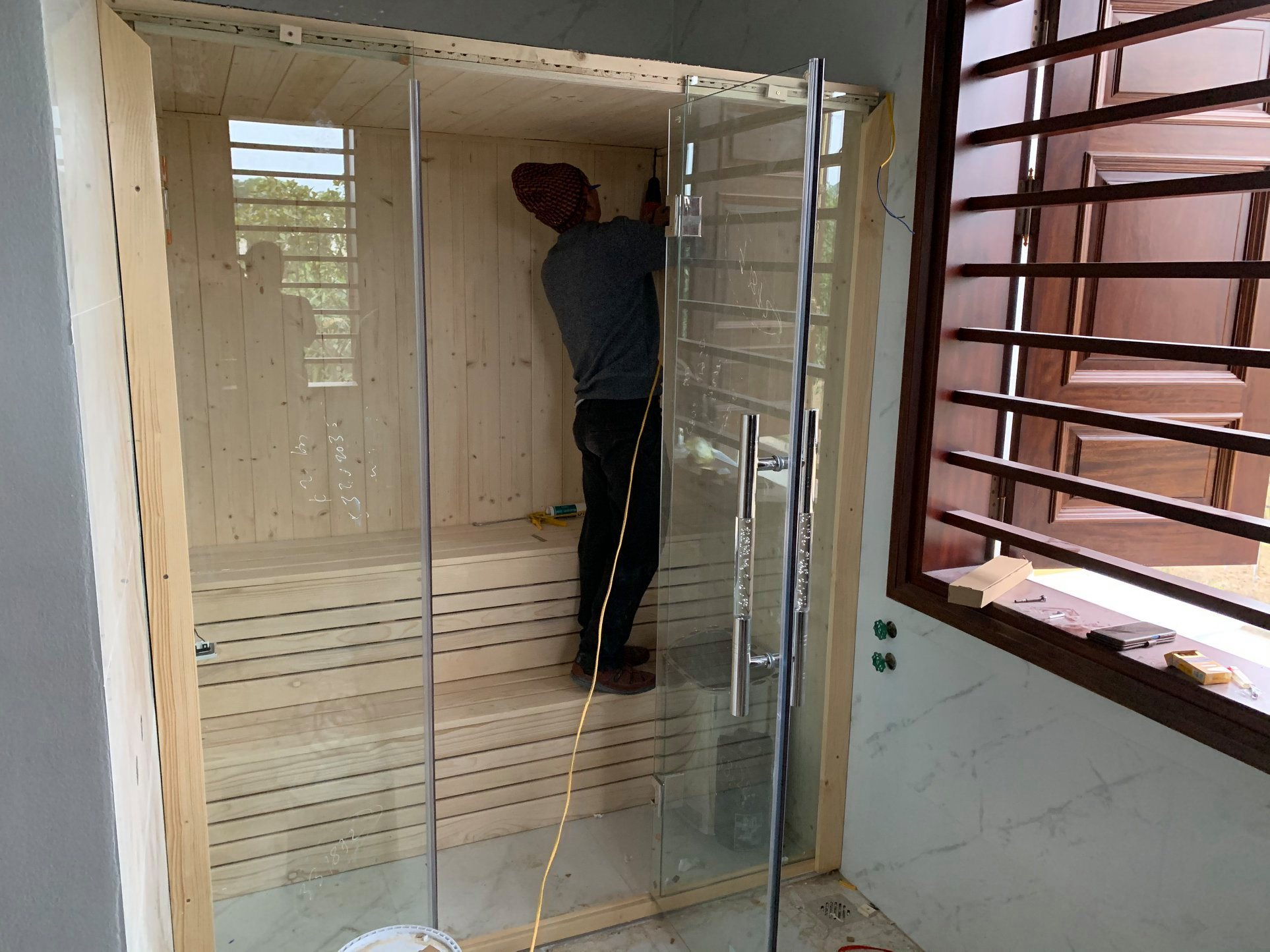 Hướng dẫn lắp đặt phòng xông hơi khô, ướt đơn giản an toàn