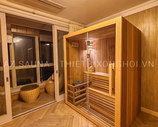 Phòng xông hơi gia đình 1600x1200x2000