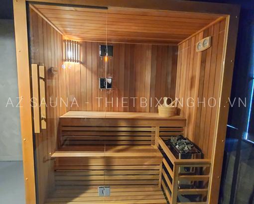 Phòng xông hơi gia đình 1800x1100x2000