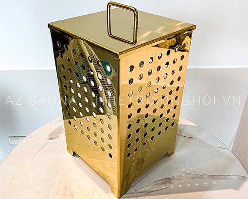 Hộp thảo dược phòng xông ướt mạ vàng cao cấp - AZ SAUNA