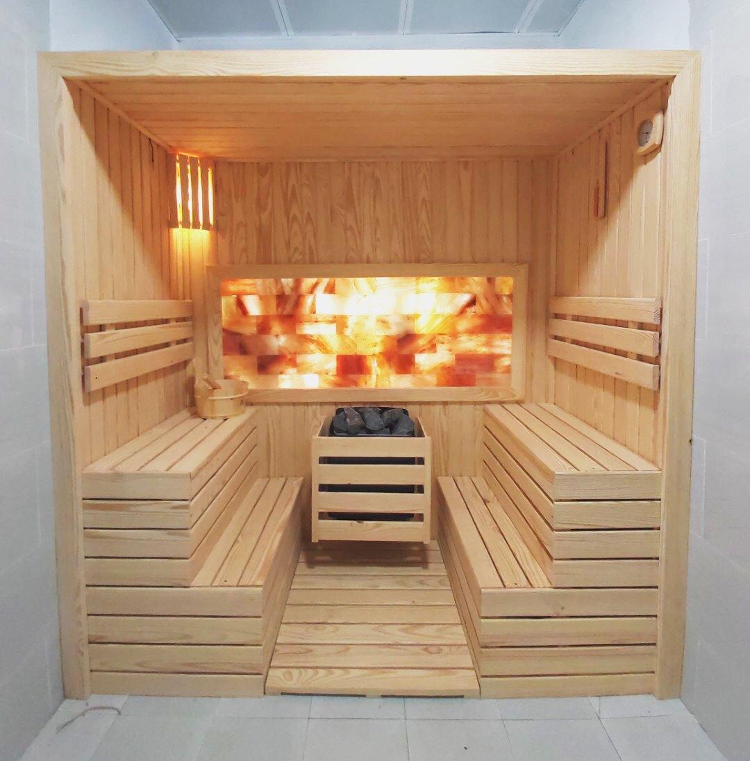 [HOT] Phòng xông hơi khô đá muối gia đình, spa đẹp nhất 2021