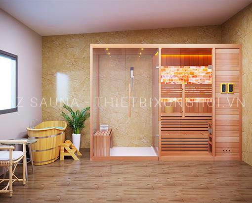 Phòng xông hơi gia đình chị Huyền - Vĩnh Yên