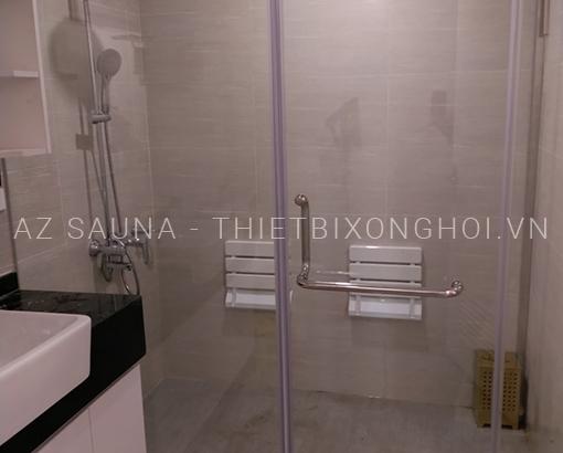 Phòng xông hơi ướt gia đình - A Tài - Golden Mark Hà Nội